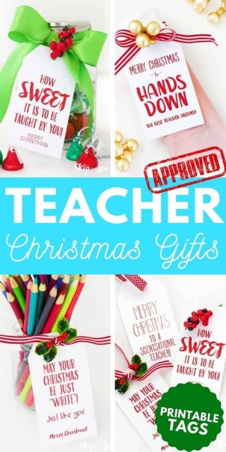christmas teacher gifts PIN