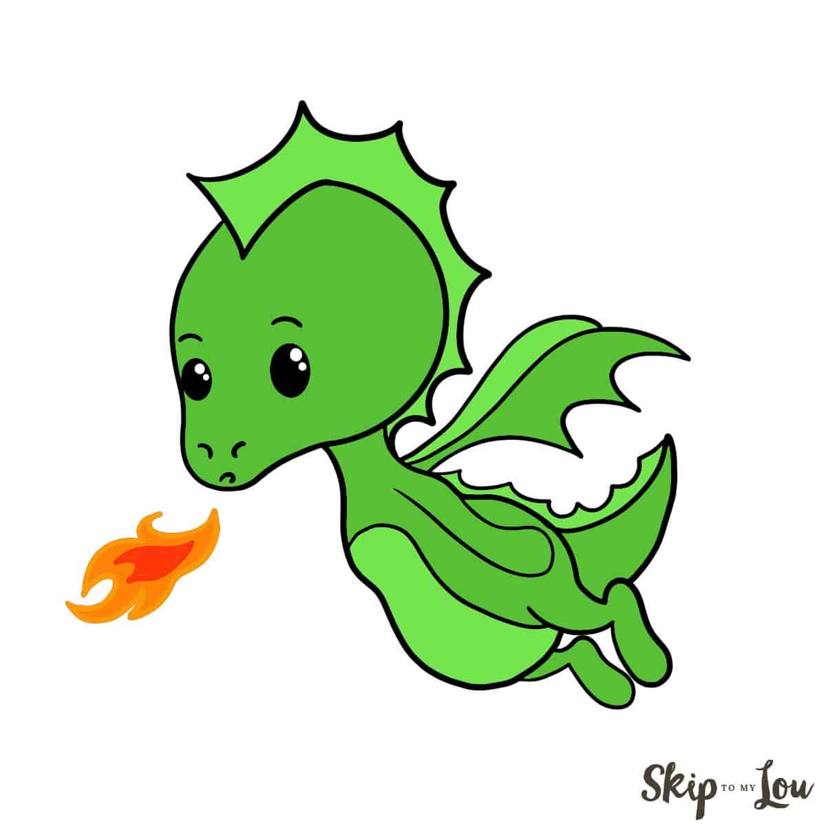 How to Draw a Dragon | Skip To My Lou