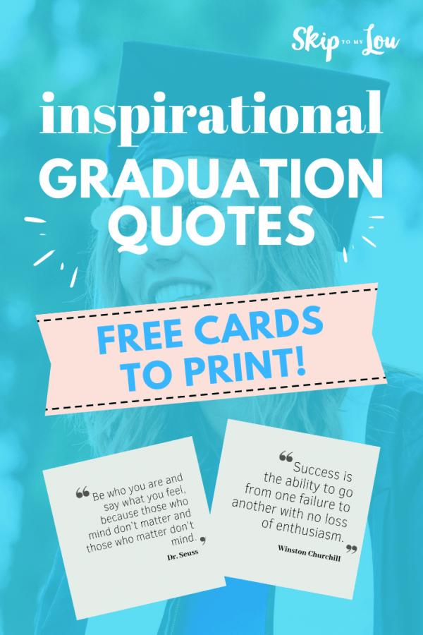 inspirational graduation quotes PIN
