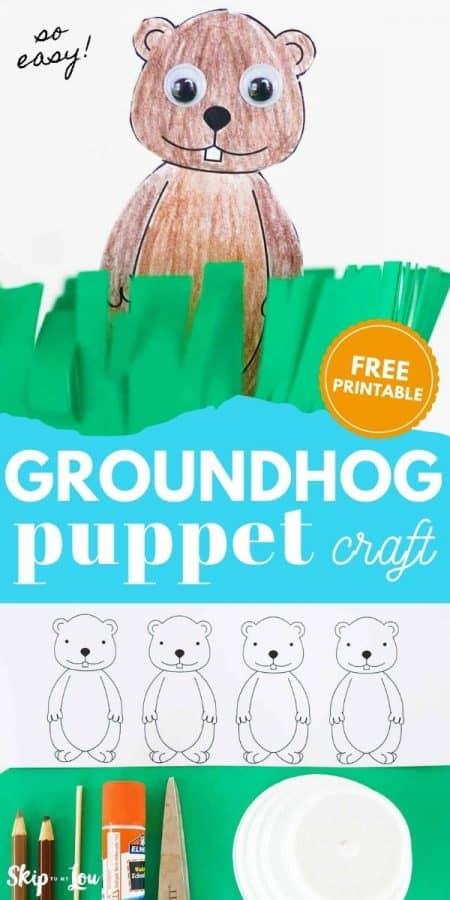 groundhog paper puppet PIN