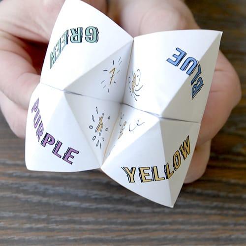 fortune teller game