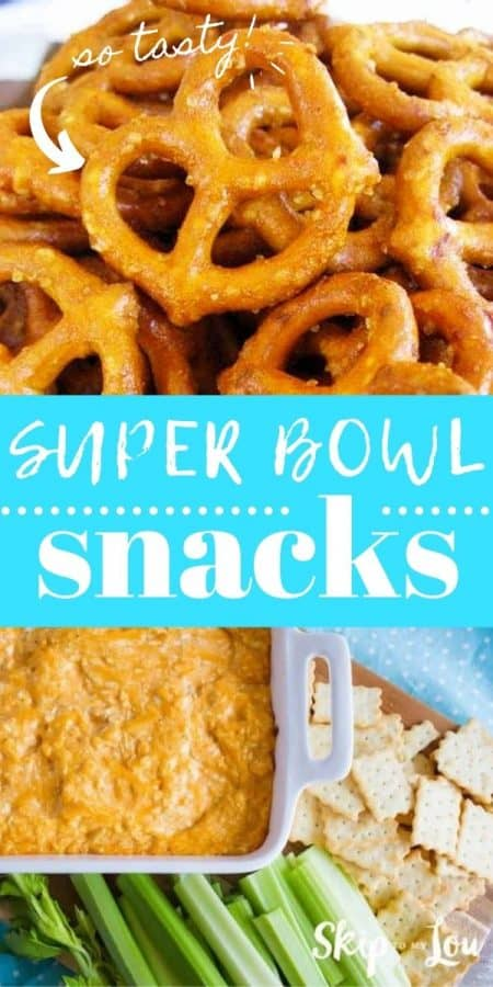 super bowl snacks PIN