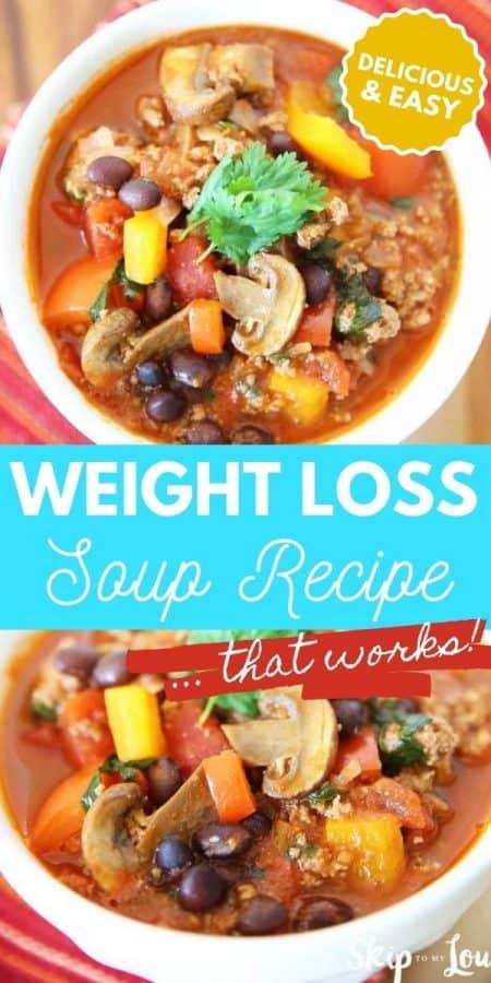 weight loss soup recipe PIN