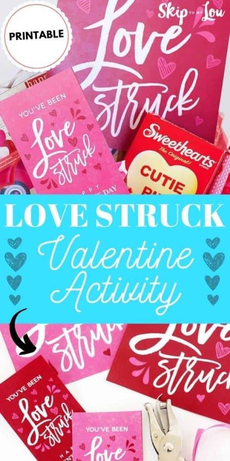 love struck valentine activity PIN
