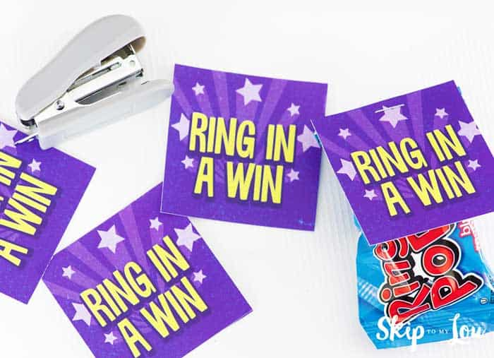 ring in a win printable tag ring pop stapler