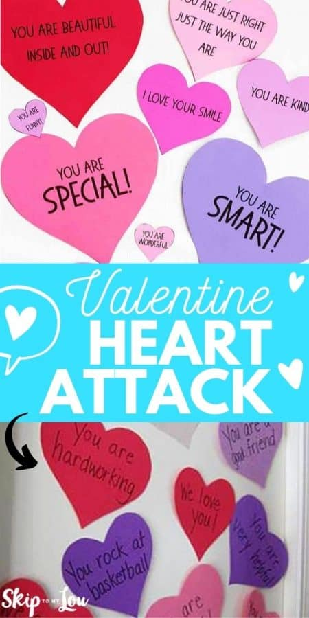valentine heart attack craft PIN