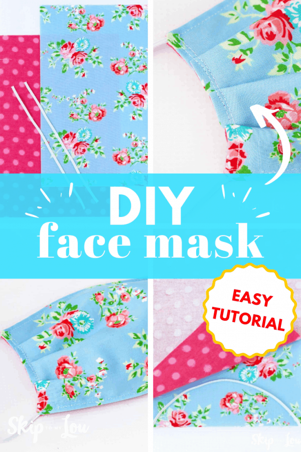 DIY face mask PIN