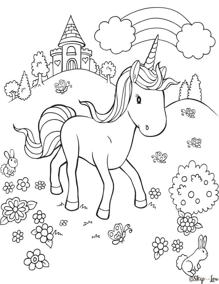 - Magical Unicorn Coloring Pages {Print For Free} Skip To My Lou