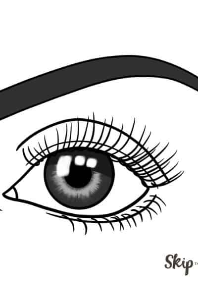easy eye drawing tutorial