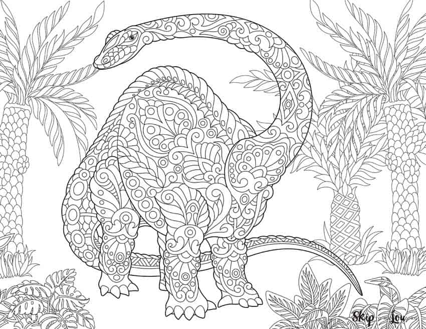 Dinosaur Coloring Pages {Free Printables} Skip To My Lou