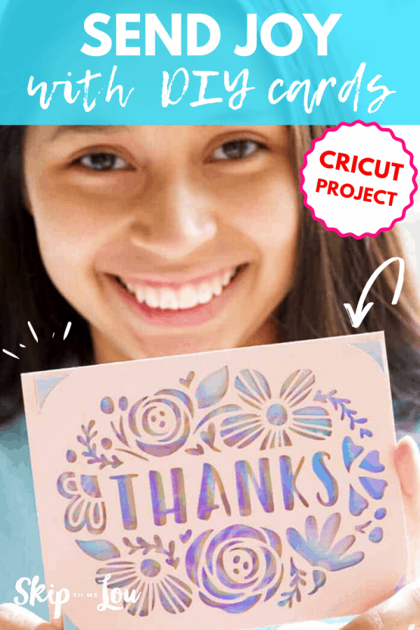 cricut project send joy diy cards PIN