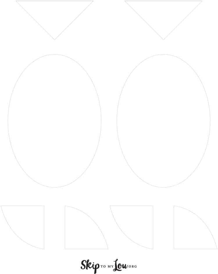 printable chick template