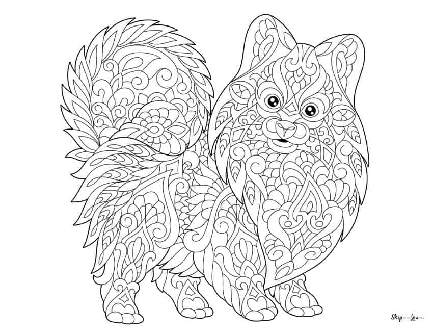 Dog Coloring Pages | 657x850