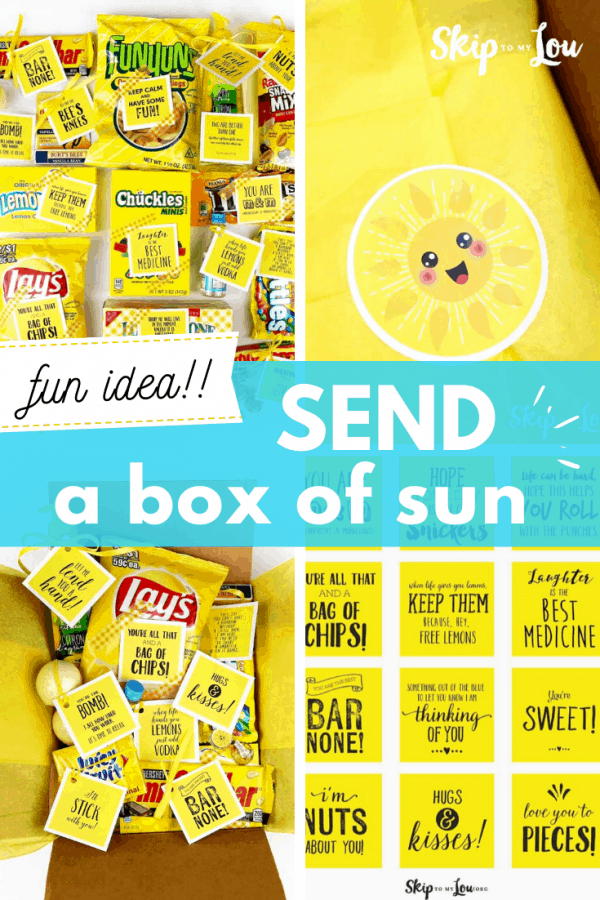 send a box of sun PIN