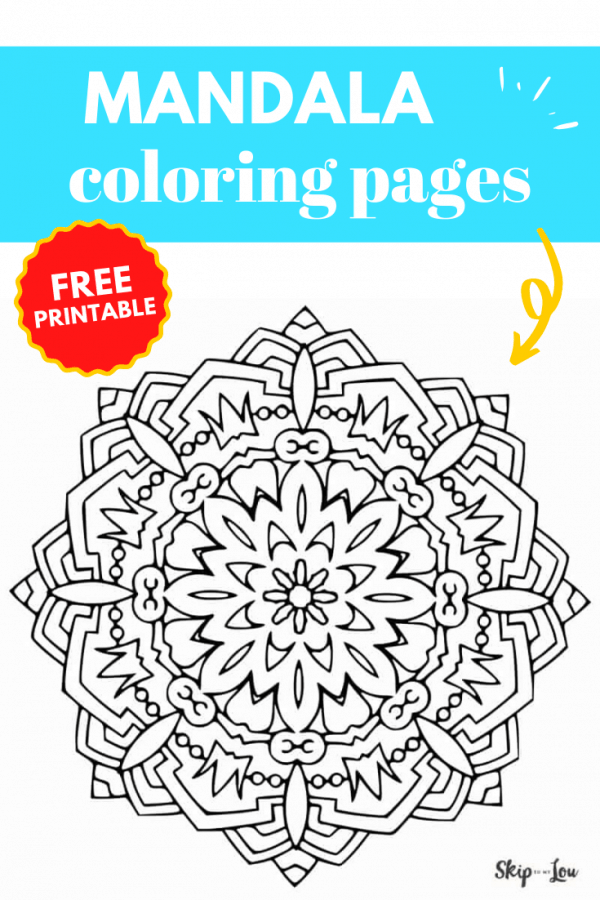 mandala coloring pages PIN