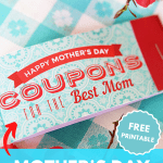 mothers day coupons printable PIN