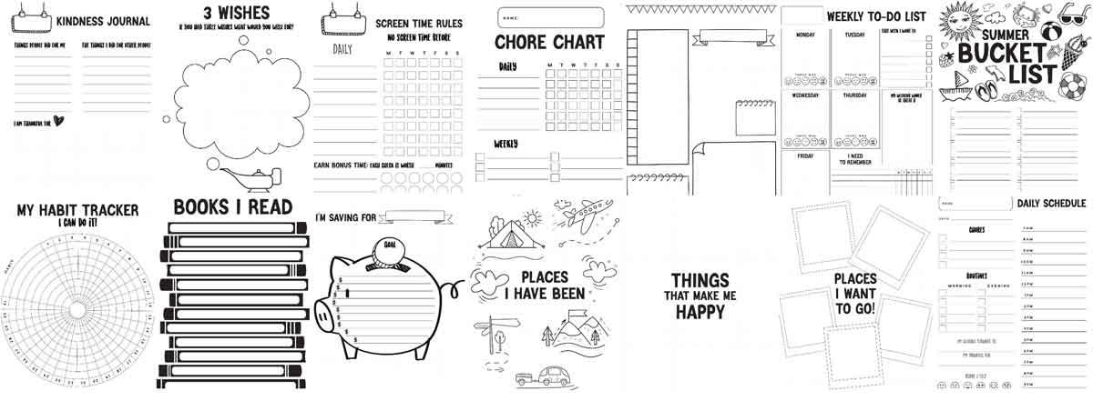 printable charts