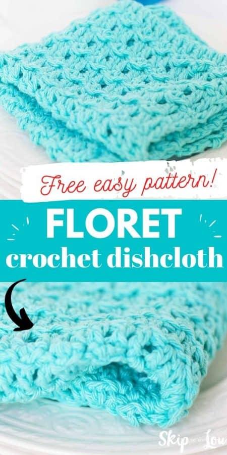floret dishcloth pattern PIN