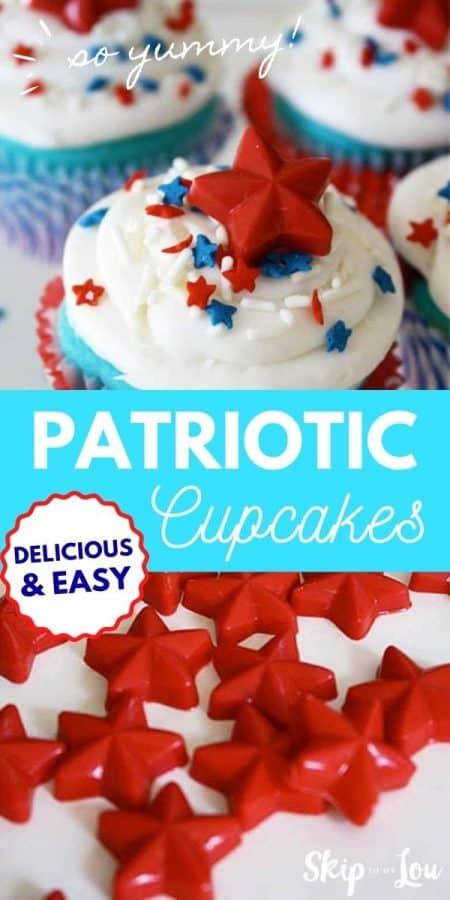 patriotic cupcakes PIN