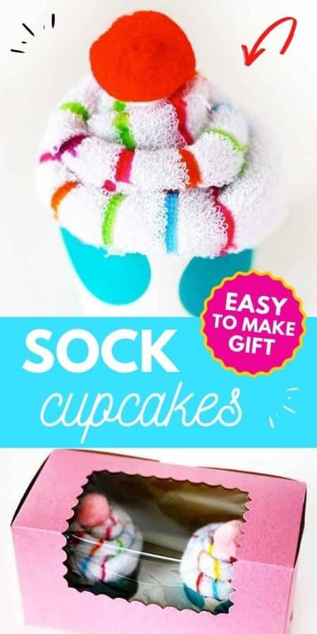 sock cupcake PIN
