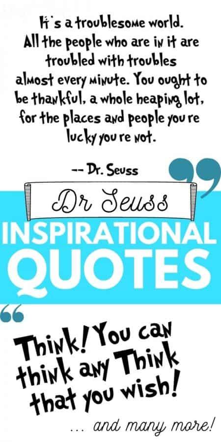 dr seuss inspirational quotes PIN