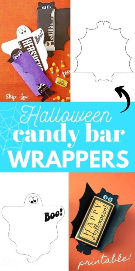halloween candy bar wrappers PIN