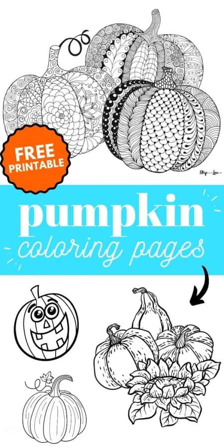 pumpkin coloring pages PIN