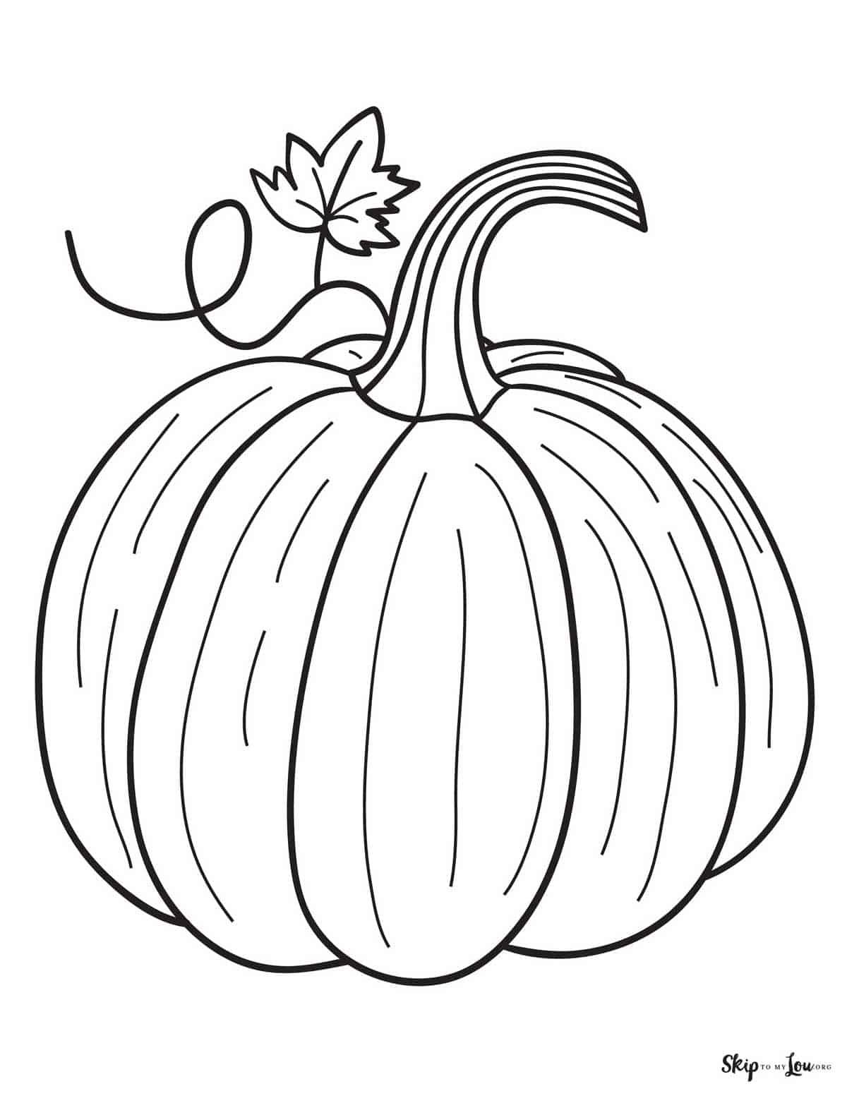 FREE Printable Fall Coloring Pages | Skip To My Lou