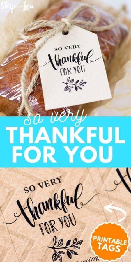 thankful for you printable PIN