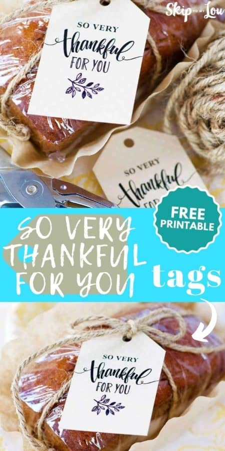 thankful for you tags PIN