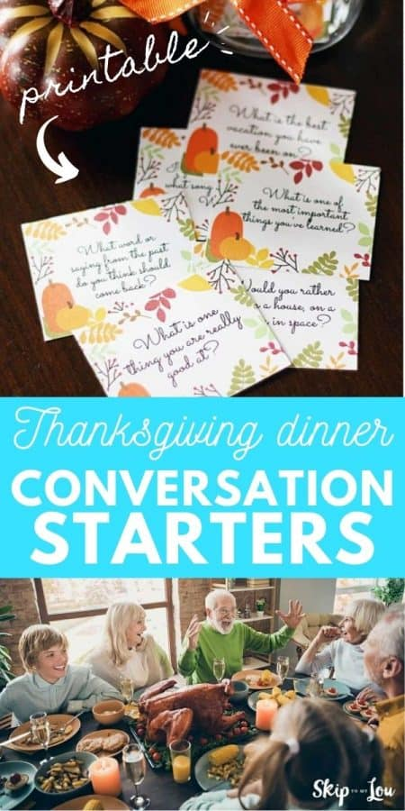 thanksgiving conversation starters PIN