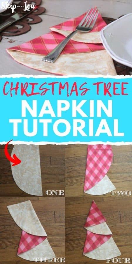 sewing napkin tutorial PIN
