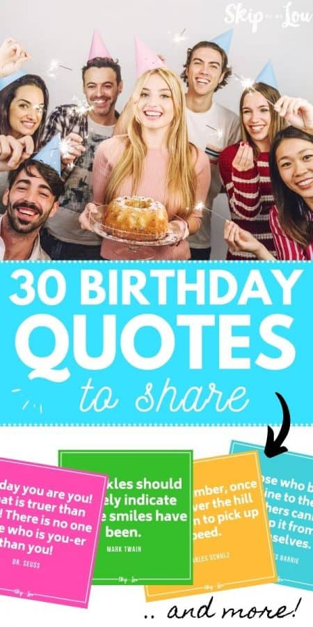 30 birthday quotes to share PIN