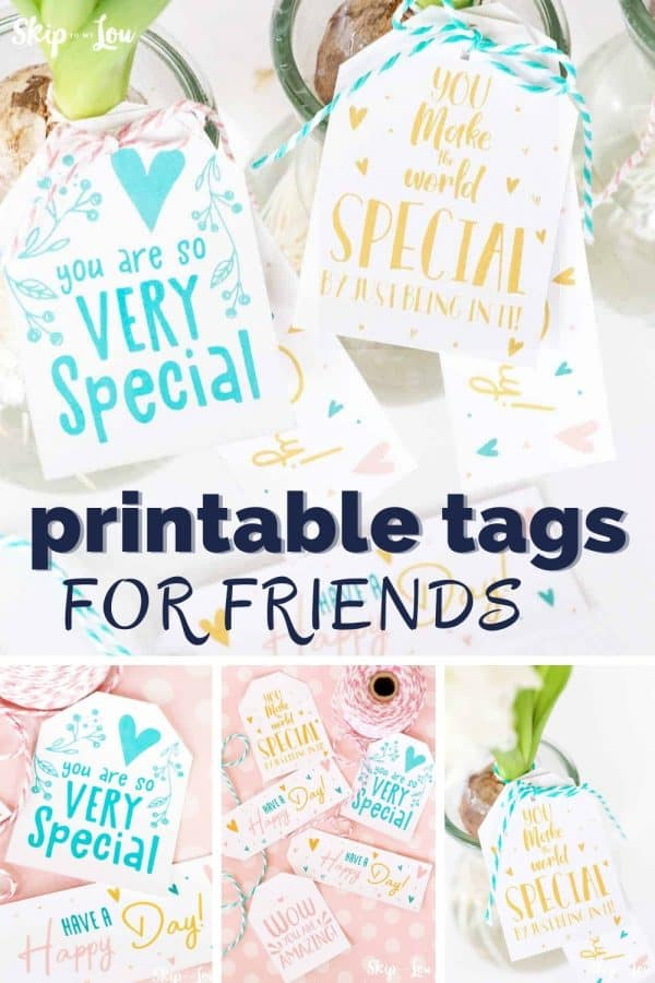 printable tags for friends PIN