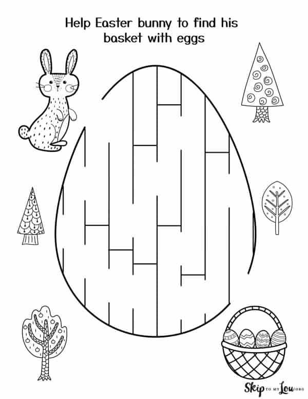 egg maze