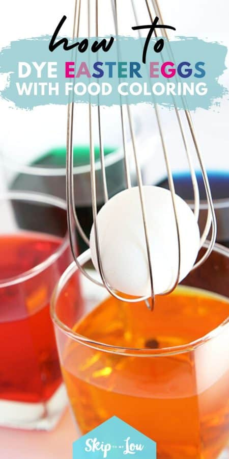 easter egg food coloring PIN