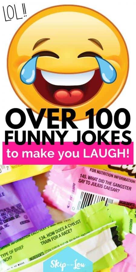 100 funny jokes PIN