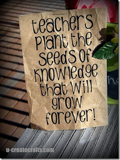 teacher saying for gift