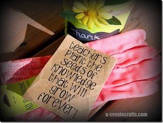teacher gardening gift