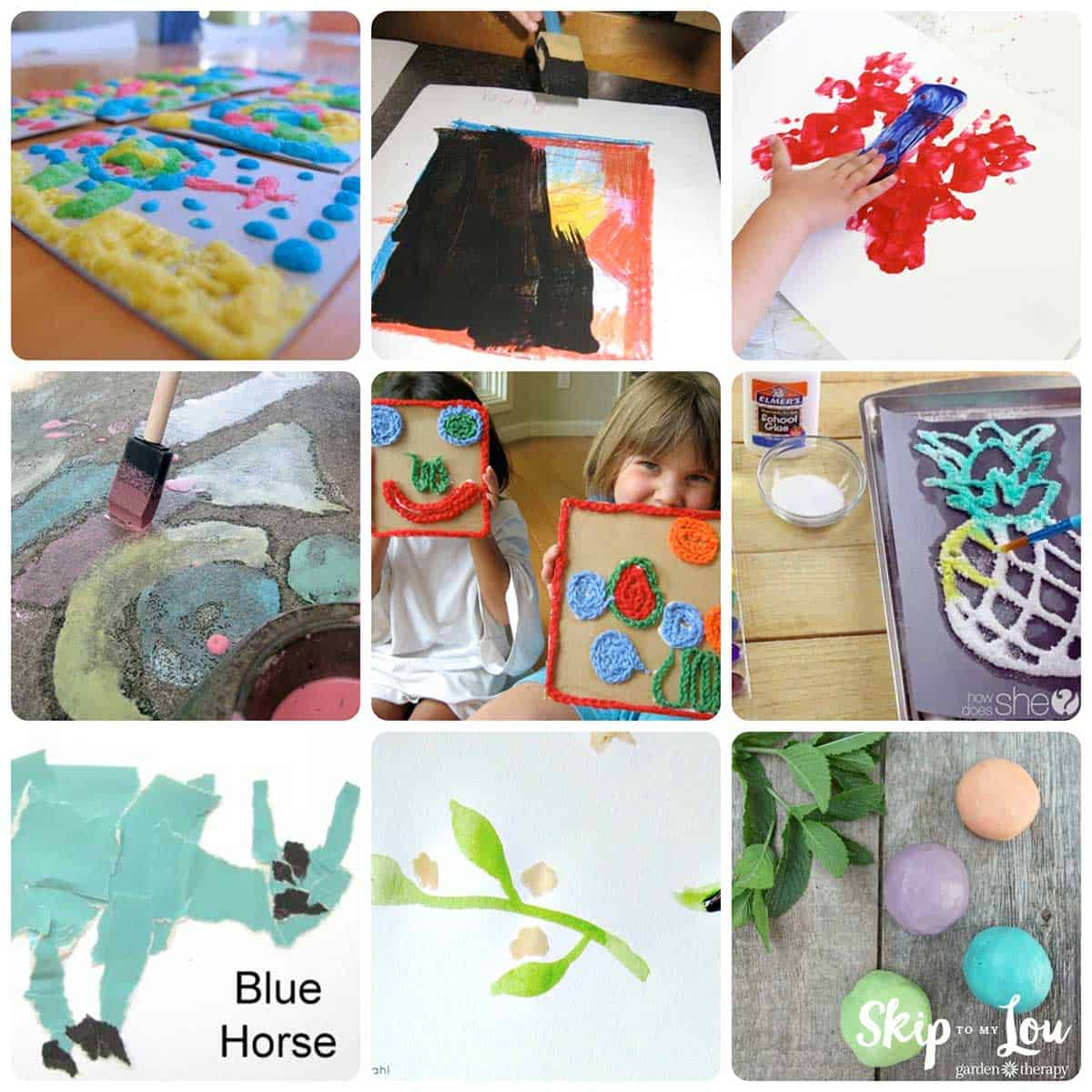 preschool art projects collage