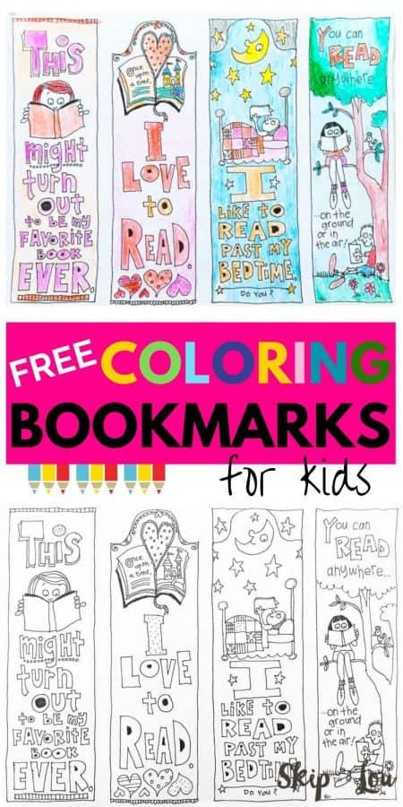 coloring bookmarks PIN
