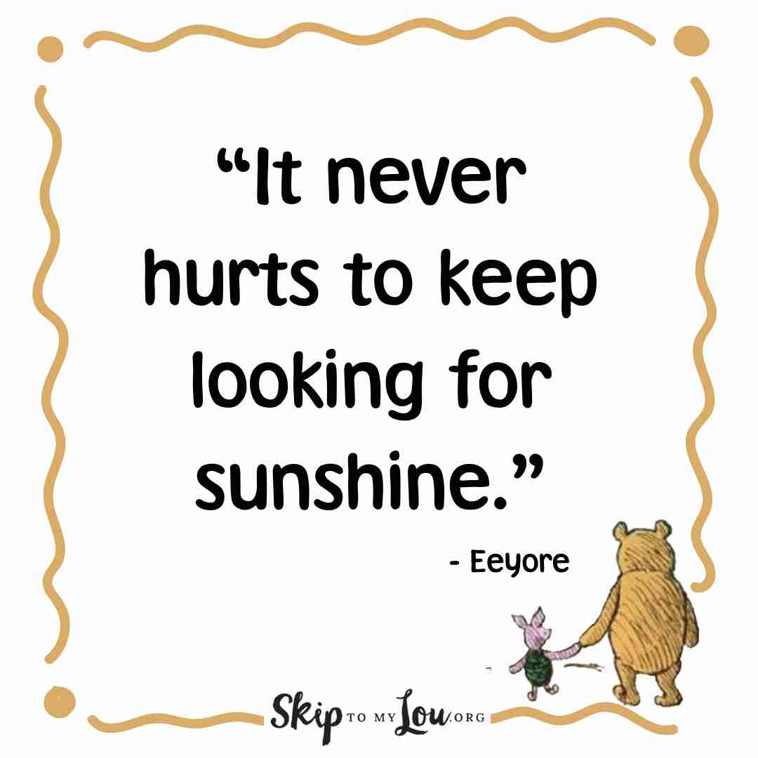 it never hurts winnie the pooh quotes