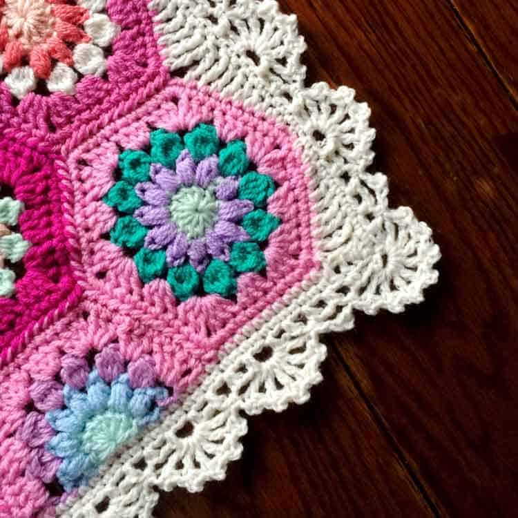 shell crochet border