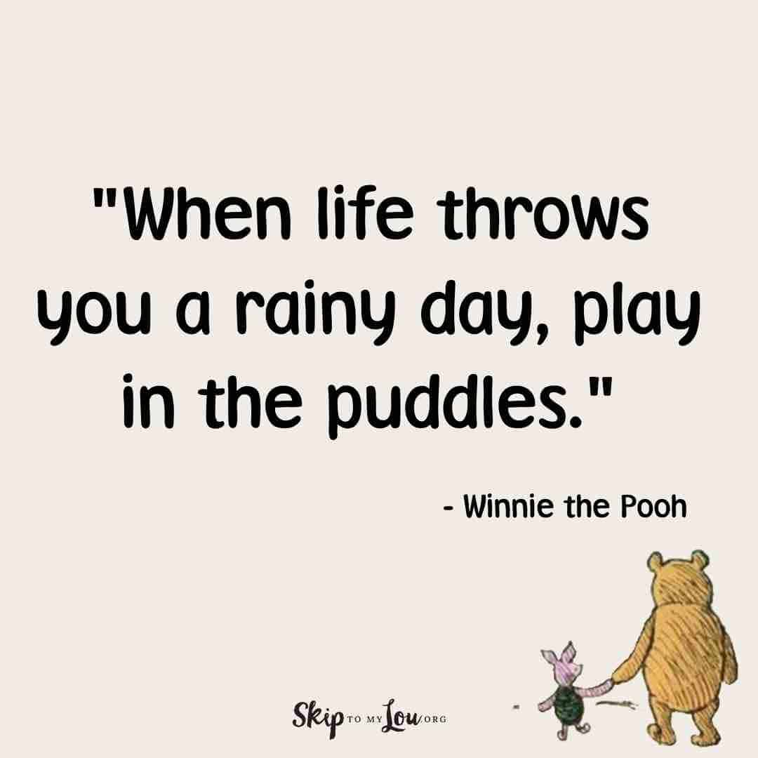 when life throws winnie the pooh quotes